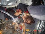 Foto mahasiswa/i Korban Kecelakaan di Malang saat di kamar mayat.