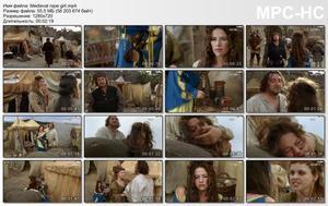 Medieval rape girl