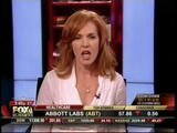 Liz Claman, Fox Business News - sexy legs, sexy heels, sexy looks (9-9-08)