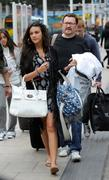 Michelle Keegan at a Train Station in Manchester 10th September x26