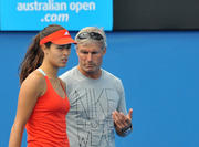 Ана Иванович, фото 1610. Ana Ivanovic practices for 2012 Australian Open - Melbourne - 15/01/12, foto 1610