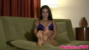 Humiliation POV Kayla Jane: Edge To My Perfect Feet